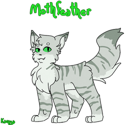 THUNDERCLAN - Mothfeather by MoonPaw17