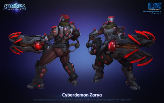 Zarya Cyberdemon by FirstKeeper