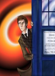 Doctor who? by theTieDyeCloak