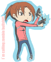 L4D Zoey Chibi by REMiiX
