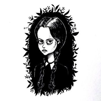 Wednesday Addams by Ellea-Bird