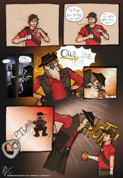 TF2 - Owl Love To by Beginneratart