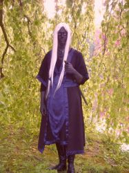 Drow in the forest by Fayola