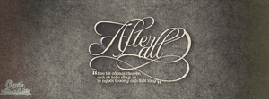 Typography ''After All'' by GenieDyo