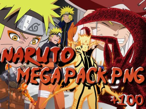 Mega Pack de render (PNG) Naruto by teffiw