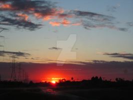 Sunset in L.A. 2013 by thesmilyone