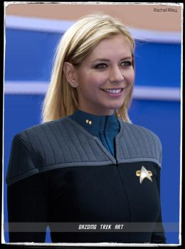 Lieutenant Rachel Riley Celebrity Star Trek by gazomg