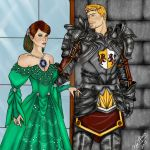 King Alistair and Warden Tabris by OurMysticalNonsense