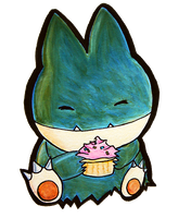 Munchlax want EAT.