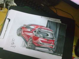 my drawing with marker pen by luwe2009