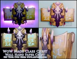 WoW Class Crest: Mage by StrayaObscura