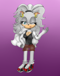 Vanessa the Hedgehog by SonicUS1000