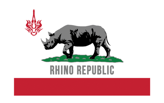 Rhino State Flag - Warframe Contest by TomBadguy