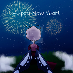 Happy New Year! by CreativeCrepeOwO