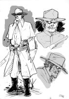 Jonah Hex - sketch by DenisM79