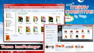 .Merry Christmas iconpackager by Tanyz by Briixday
