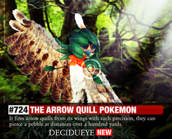Pokemon Wildlife Safari | Decidueye by colossalcake
