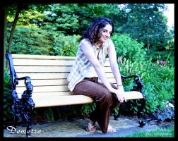 Demetra Park Bench by DeviantDesires
