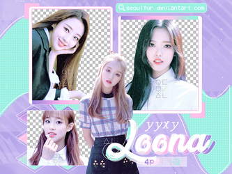 LOONA / YYXY / PNG PACK by seoulfur