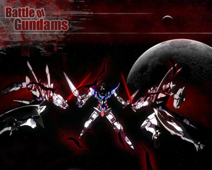Battle of Gundams by anime102004