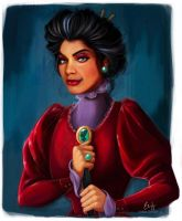 Lady Tremaine by glimpen