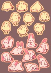 Easter Stickers by Essuom