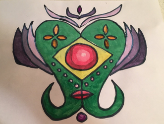 Art Class Online Symmetrical Painting by mirpacheco