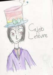 Caleb E. Lefevre by Geekqueen529