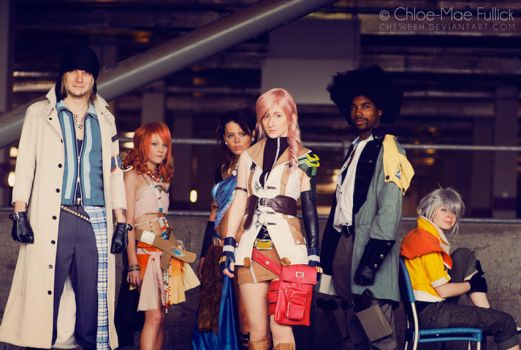 Final Fantasy XIII - 01 by cheweeh