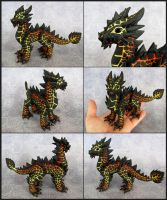Adult Magma Dragon - Magmax by DragonsAndBeasties