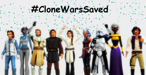 White Cat and TCW crew - CloneWarsSaved by WhiteCattheheroqueen