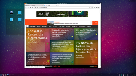 Origami OS with Nightfire Web Browser by haze007