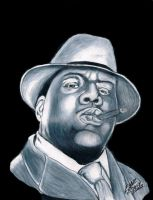 Notorious Biggie smalls by CHADBOVEY