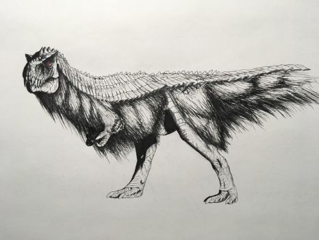 Hypo Feathered Rex by PinkAndScary