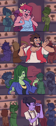 Monster Prom - Snake Juice (Animatic) by Sangled