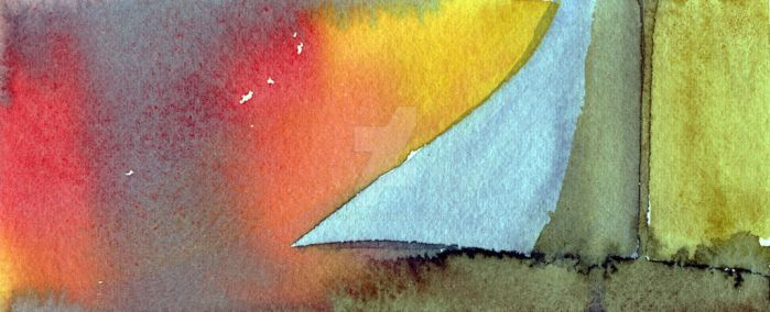 Experimenting with watercolours VI by Guvy