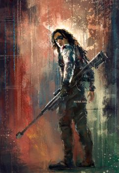 Winter Soldier by WisesnailArt