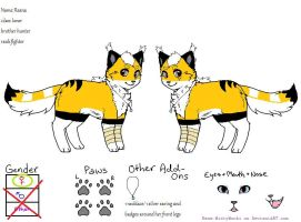 reana as cat ref by Xxwhitewolf-lonerxX