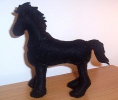 Pulsiezar The Horse Plushie by Oblique-and-Mysitque