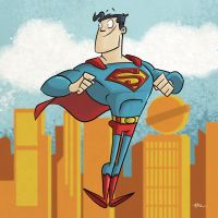 Superman by tyrannus