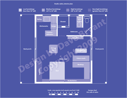 Essential Studio Cabin plan by Catspaw-DTP-Services