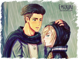 Otabek and Yurio by Emilkun