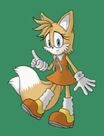 Commission: Genderbend Teen Tails in Cream costume by Zack113