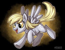 MLP: Derpy 2017 by Sciggles