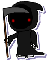 Death sticker by Death-of-all