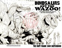 Sketchbook 2010 cover by KaijuSamurai