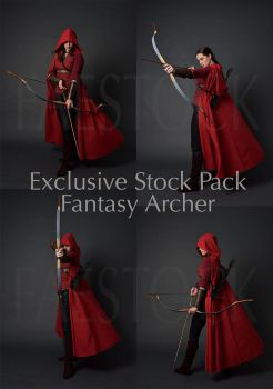 Fantasy Archer - Exclusive Stock Pack by faestock
