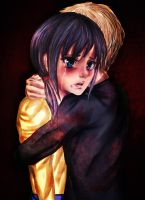 I will protect you - Corpse party fanart by Taupinete