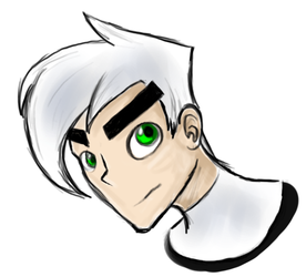 Danny Phantom Portrait by CGP30