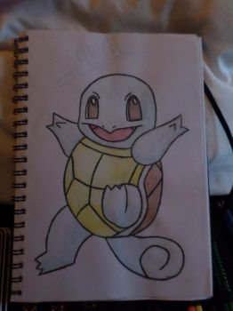 Squirtle by RoxasNamineForever